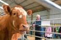 Rural Economy Secretary Fergus Ewing at the Scotland's Beef Event, North Bethelnie Farm, Oldmeldrum. Picture by Scott Baxter