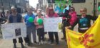 Walk a Mile for Mental Health, an event took place in Fort William today.