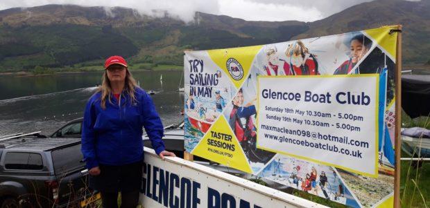 Glencoe Boat Club secretary Roselynn Michie.