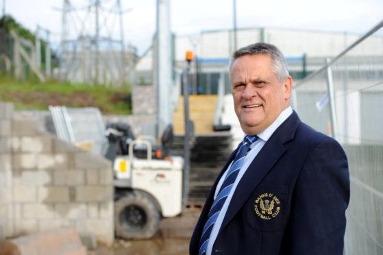 Banks o'Dee chairman Brian Winton.