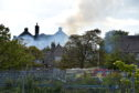 The fire caused significant damage at Victoria Road School