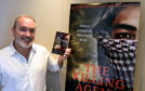 """Author James Mackenzie from St Cyrus is launching his third novel, """"The Killing Agent"""",  Picture by Jim Irvine"""