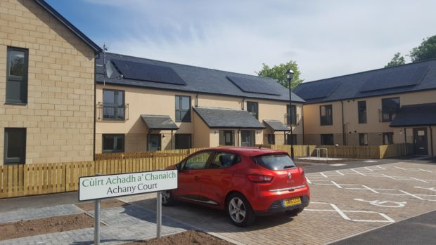 Achany Court, Dingwall. Pic supplied by Highland Council.