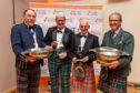 Spirit of Speyside Whisky Festival Ambassador award winners (left to right) Charles MacLean, Michael Urquhart, Dennis McBain and Ian Millar.