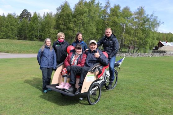 The joint venture between the Cairngorms National Park Authority (CNPA) and Scottish Natural Heritage (SNH) has delivered a trishaw to enhance mobility for those within the local vicinity