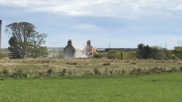 The farmhouse near Peterhead