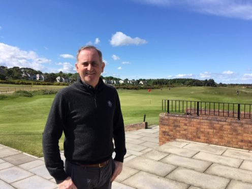 Colin Sinclair has just taken over as the new chief executive of Nairn Golf Club