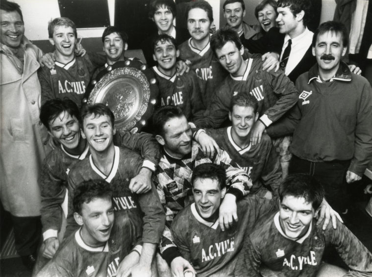 Cove Rangers - Evening Express Aberdeenshire and District Shield 1990-