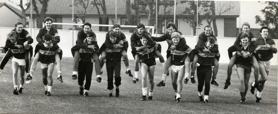 Cove Rangers in 1986