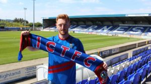 Caley Thistle sign Morpeth Town midfielder David Carson