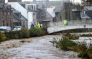 The footpath will be closed as part of £16m flood prevention works after the River Carron burst its banks, most recently in 2012.