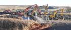 Abbeyton Bridge was demolished.