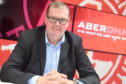 Aberdeen FC commercial director Rob Wicks.