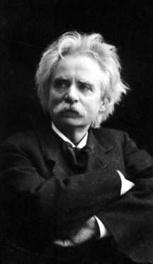 Edvard Grieg, 1843-1907, was proud of his north-east roots.