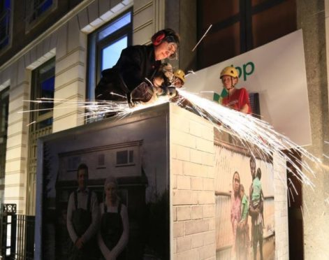 Activists shut down BP headquarters on eve of AGM in Aberdeen | Press and Journal