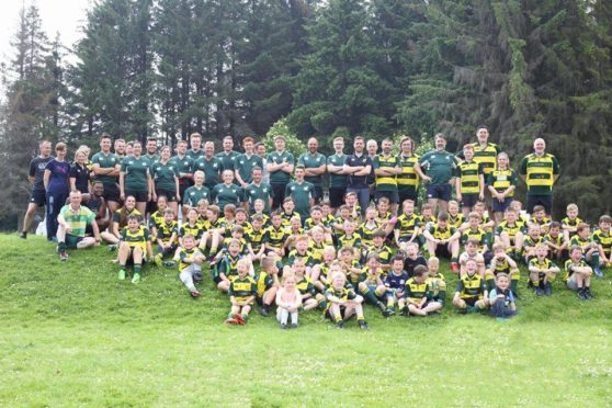 Huntly RFC has been given £34,000 by Scottish Rugby.