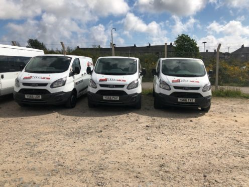 Aberdeen council hiring vans as new vehicles lie unused at depot | Press and Journal