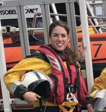 Jane Patterson doubles up her time as a dentist to volunteer with the RNLI lifeboat at Kessock