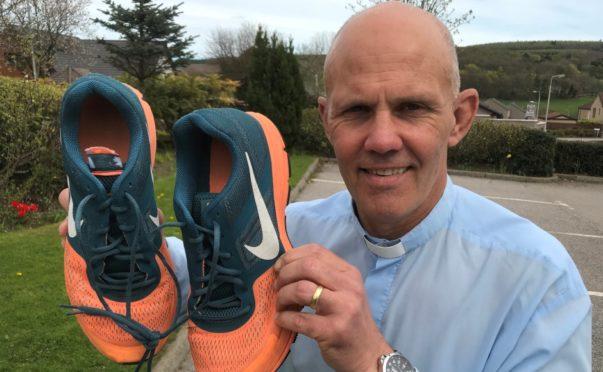Rev Sean Swindells is taking part in an InterFaith running event.