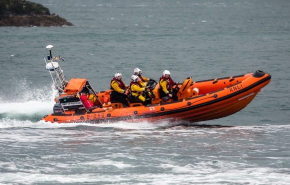 Kyle lifeboat launched
