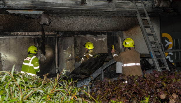 Nobody was injured in the fire.