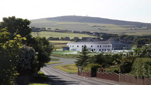 NHS Orkney's Balfour Hospital in Kirkwall