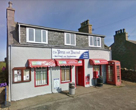 Henry Hadden's newsagent at Longhaven near Peterhead