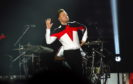 Olly Murs performed at the AECC