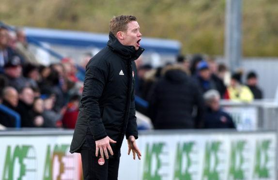 Aberdeen coach Barry Robson.