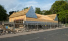 The new structure of Co-op in Lhanbryde in moray.