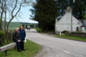 Peter and Tracy Rettie are calling for more to be done to improve the safety of the A96, Bainshole, Glens of foundland, that passes by their house.