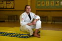 Aberdeen judoka Abigael McBeath.