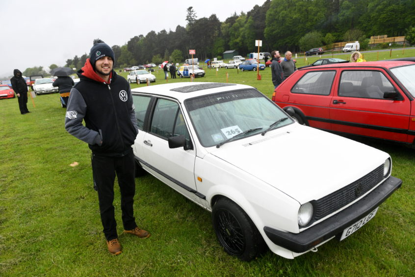 Craig Cruickshank, VW Polo Mk2.   Picture by Scott Baxter    26/05/2019