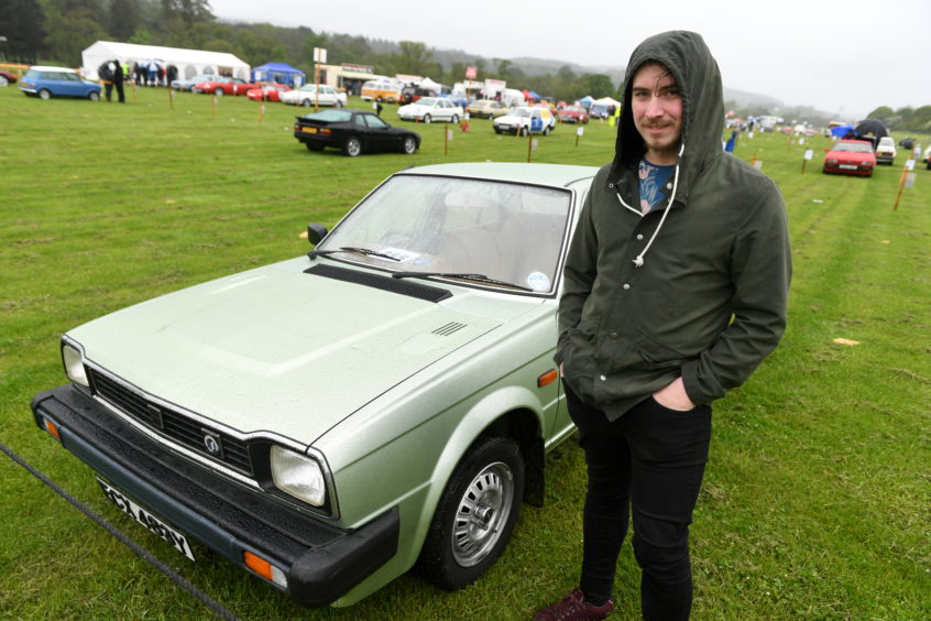Alan Whyte, Triumph Acclaim.   Picture by Scott Baxter    26/05/2019