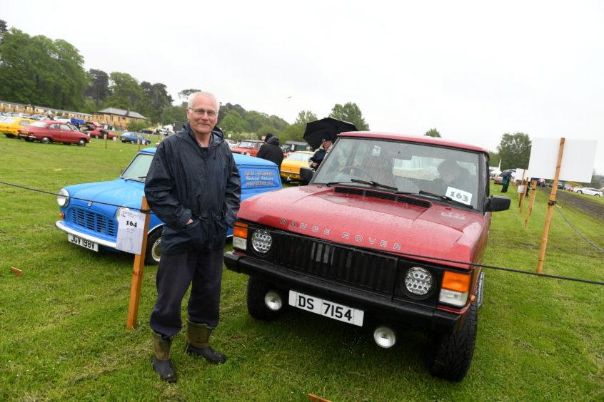 David Sutherland, Range Rover Classic.
