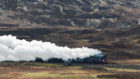 The Flying Scotsman in the Highlands. Picture by Sandy McCook.