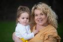 Adeline with mum Stephanie