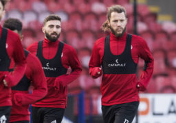 Stevie May backs Aberdeen skipper Graeme Shinnie to be a hit at Derby County