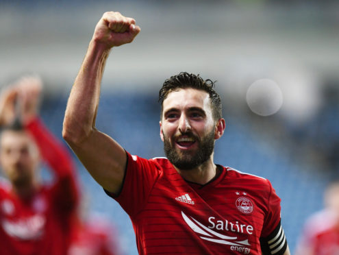 Graeme Shinnie leaves Aberdeen for Derby in the summer.