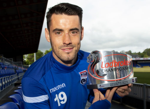 Brian Graham is named as the Ladbrokes Championship Player of the Month for April