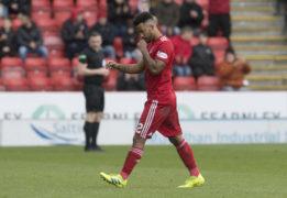 Aberdeen boss Derek McInnes hails Shay Logan for playing through pain against Celtic