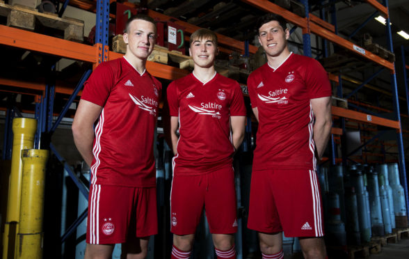 The Aberdeen kit for the 2019-20 season.