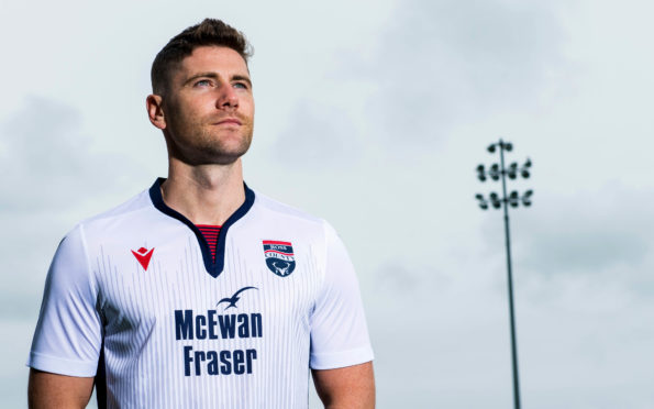 Ross County midfielder Iain Vigurs.