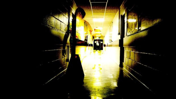 Students at Milne's High School created a horror-style film as part of the project.