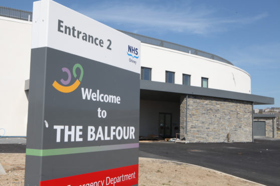The new Balfour hospital