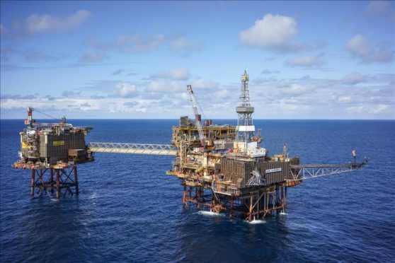 Production has been shut at Claymore (pictured), as well as the Golden Eagle and Tartan installations.