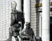 Gordon Highlanders Castlegate statue