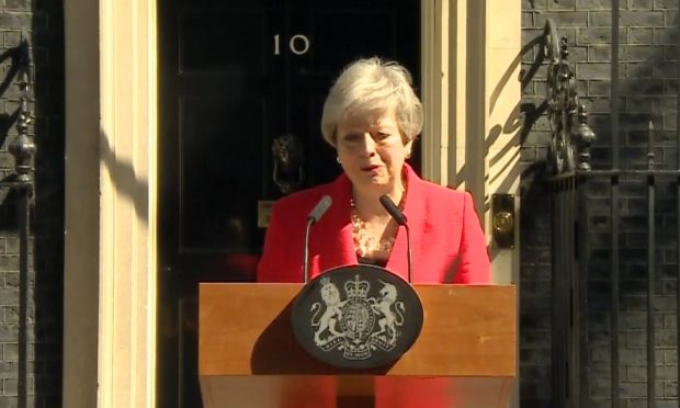 Theresa May announces her resignation as PM