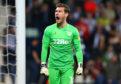Aston Villa goalkeeper Jed Steer.