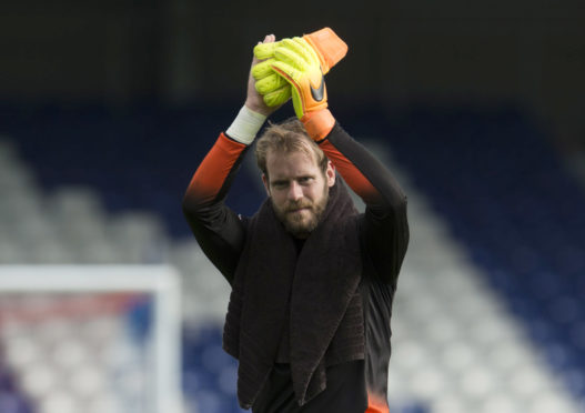 Former Caley Thistle goalkeeper Owain Fon Williams.